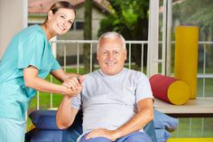 Photo about Senior men getting physiotherapy with a physiotherapist. Image of disease, functional, health - 29235803 Elderly Care, Physical Therapy, Caregiver, Gymnastics, Clinic, Physics, First Love, Innovation, Good Things