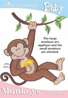 Anita Goodesign | Baby Monkeys - Anita Goodesign