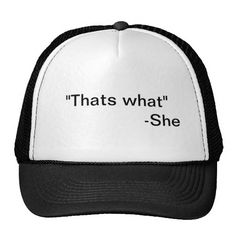 ">>>This Deals          	""That's what"" She Said Hat!           	""That's what"" She Said Hat! Yes I can say you are on right site we just collected best shopping store that haveHow to          	""That's what"" She Said Hat! Review from Associated Store with...Cleck Hot Deals >>> http://www.zazzle.com/thats_what_she_said_hat-148014086998034915?rf=238627982471231924&zbar=1&tc=terrest"