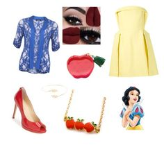 """""""Dressy evening with Snow White. """" by tabitha-bilyeu on Polyvore featuring Delpozo, Ivanka Trump and Accessorize"""
