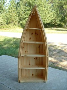 Shelf Boats, hubby would love this in his man cave.