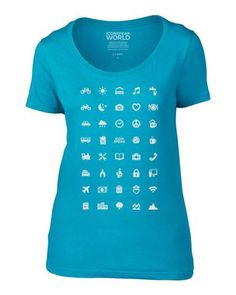 ICONSPEAK World Women's T-Shirt
