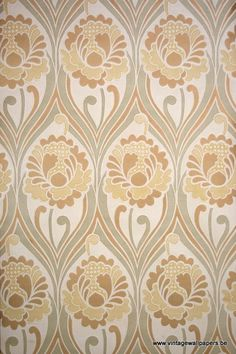 retro wallpaper from the sixties & seventies