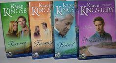 Author Karen Kingsbury Four Book Bundle Baxter Family Drama Firstborn Series 2-5 Includes: Forgiven - Found - Family - & Forever by Karen Kingsbury,http://www.amazon.com/dp/B00IX2BMYA/ref=cm_sw_r_pi_dp_psJhtb0T8Y31TKMM
