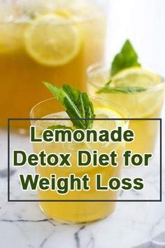 Lemonade Detox Diet: The Lemon Diet, also known as the master cleanse, is a diet resulting in rapid weight loss over a period of several days to about a week.  Check out the website