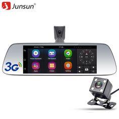 "Junsun New 7"" Special 3G Car DVR Camera Mirror Android 5.0 with GPS Automobile DVRs Dash Cam mirror Video Recorder"