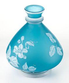 A Stevens And Williams Cameo Glass Vase. Stourbridge, England, circa 1900.