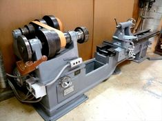 Photo Index - Oliver Machinery Co. Wood Turning Lathe, Turning Tools, Wood Lathe, Woodworking Machinery, Woodworking Projects, Machinist Tools, Science Tools, Tool Bench, Lathe Machine