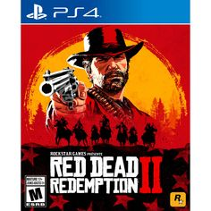 Take-Two Red Dead Redemption 2 - Action/Adventure Game - PlayStation 4 Sleeper Hit, Grand Theft Auto, The Division, Tekken 7, Forza Motorsport, The Witcher 3, Final Fantasy Xiv, Zulu, Monster Hunter