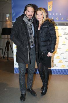 Matte Carlsson och Lina Falk IDrottsgalan STHLM Gift Lounge