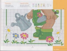 Cross Stitch Baby, Diagram, Cartoon, Embroidery, Ideas, Pattern, 1, Cross Stitch For Baby, Bears