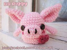 BB Piggy Crochet Pattern