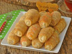 Hazır Yufkadan Peynirli Kruvasan Börek Nasıl Yapılır? Diet Recipes, Snack Recipes, Ham, Chips, Favorite Recipes, Vegetables, Breakfast, Food, Bakken