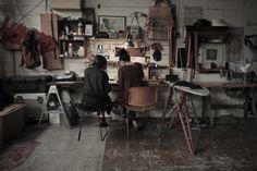 Dream Studio, Home Studio, Art Studio Design, Dry Goods, Home Decor Inspiration, Daily Inspiration, Creative Studio, Interior Design, Workspaces