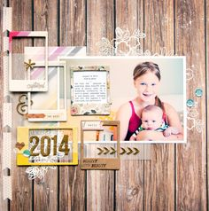 #papercraft #scrapbook #layout. drew & kate... by maggie massey at @studio_calico