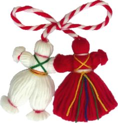 We made these when I was younger. Cute Christmas tree decorations or add to the outside of a package instead of a bow. Cute Christmas Tree, Christmas Tree Decorations, Christmas Ornaments, Crafts To Make, Crafts For Kids, Arts And Crafts, Yarn Crafts, Paper Crafts, Diy Crafts