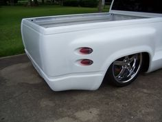 installing step shaver kit full size truck | it shaves the rear step on a stepside bed. pita but some people like ...
