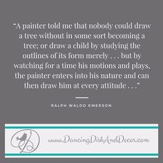 Become your art  #pin #ralphwaldoemerson  sent via @latergramme