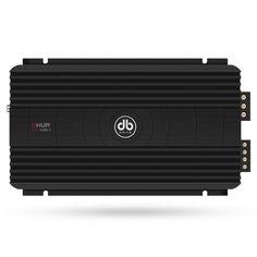 Amplificador DB Drive A7M 1250.1 Monoblock Clase D Series A7M de 1250 Watts.