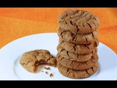 Try my award winning Spiced Ginger Cookies - gluten free of course. Super chewy and soft on the inside with a lovely crunch on the outside.