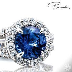 A @tacori Sapphire is the best present! // @PadisJewelry