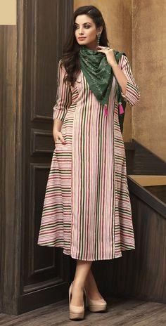 Cream Printed Muslin Kurti Dress with Scarf #kurti #kurta #dress #tunic #dresses #fashion #clothing #womensfashion #womenswear #womensclothing #womanstyle #womansfashion #raspberryblush #traditional #indian #bollywood #ethnic #indowestern #indianwear #indianfashion #casualwear #casualfashion #ethnicwear #ethnicfashion
