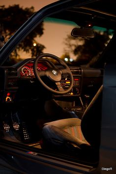 The Cockpit of an E30 M3