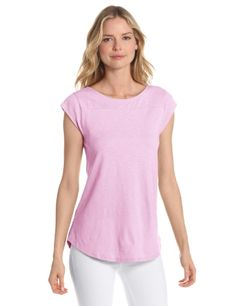 Lilla P Women's Flame Cap Sleeve Boatneck | Love yourself