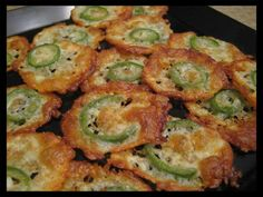 Just starting your low-carb diet? Bet you're wondering what YOU can snack on when the rest of the family is enjoying foods you can't have.. Well this recipe, if you can call it a recipe, is one solution. It's suitable for Atkins Induction Phase, Keto diets and even Primal followers that eat occasional cheese. Takes just minutes to make and bake!