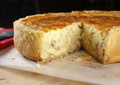 Classic Quiche Lorraine and the perfect pie crust.