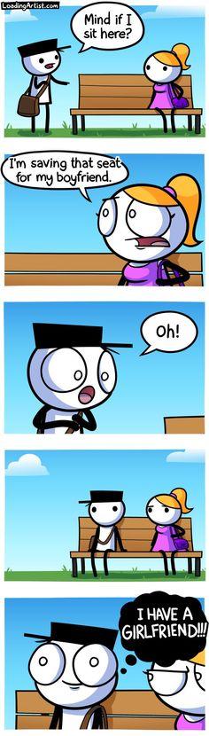 comic hell & comic - comic funny - comic subway - comic new - comic christmas - comic undertale - comic hilarious - comic hell Funny Animal Jokes, Funny Puns, Really Funny Memes, Stupid Funny Memes, Funny Laugh, Funny Relatable Memes, Hilarious, Comics Love, Cute Comics