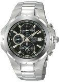 Schwab Amazon Promo codes: {Cheapest Seiko Men's SNAD53 Coutura Alarm Chronograph Silver-Tone Black   Dial Watch - http://watchesmans.net/cheapest-seiko-mens-snad53-coutura-alarm-chronograph-silver-tone-black-dial-watch