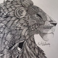a more detailed photo of my lion.. I'm really proud ^^ #artacademy #shaded_canvas #wip #lifo #art #artist #artwork #arts_help #art_empire #artoftheday #lionart #lion #liontattoo #tattoo #linework #mandala #ink #outline #arts_gallery #pattern #penonpaper #sfs #dots #design #detail #dotwork #pencil_artist #commision #boho #blackandwhite