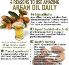 Made from the nuts of the Argan tree, argan oil benefits are a recent addition to the American beauty and health industries. Pure Argan Oil, Organic Argan Oil, Argan Oil Face, Natural Headache Remedies, Herbal Remedies, Natural Oils, Natural Skin Care, Natural Beauty, Carrier Oils For Skin