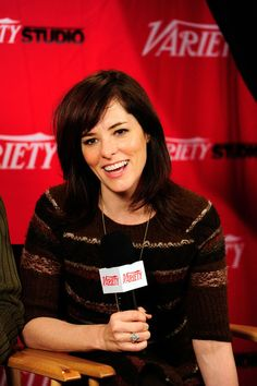 Parker Posey Medium Straight Cut with Bangs