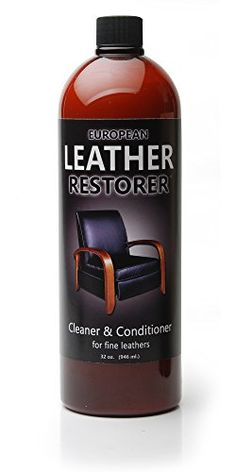 European Leather Restorer  1 Best Cleaner and Conditioner for all fine Leathers  32 Oz * More info could be found at the image url.