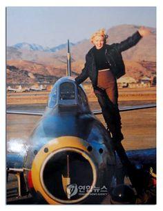 Marilyn Monroe 1954 Korea