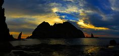 South Seas During Twilight