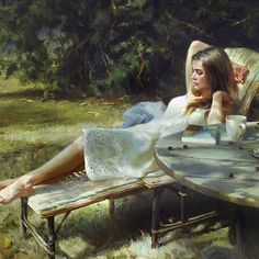 Beauty of Women on Canvas by Artist Vladimir Volegov | CLICKKER NEWS | Born in Khabarovsk, Russia, Vladimir Volegov began painting at the young age of three. His art was appreciated at that age as well.
