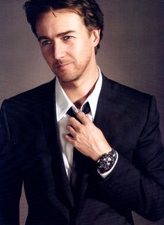 Ed Norton - Oh yeah, I already pinned him. Oops!