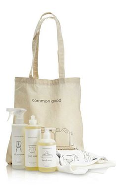 Kitchen Tote Set from Common Good