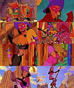 "Disney Alphabet Meme: C A L I M A R I E first letter: a favorite character Clopin Trouillefou "" What makes a monster and what makes a man? Disney Go, Disney Films, Disney Style, Dreamworks Movies, Disney And Dreamworks, Disney Pixar, Notre Dame Disney, Disney Alphabet, Disney Princesses And Princes"