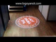 Parkeye Logo ve Lazer Yansıt Dönen Logo Uygulama Videosu - YouTube
