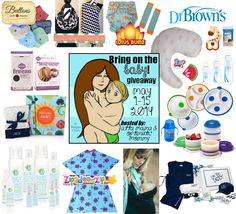 Be ready for when baby comes ~~ Enter to #Win this Ultimate Baby Shower Gift Giveaway (Ends 05/15/14) - It's Free At Last - My Reviews, Reci...