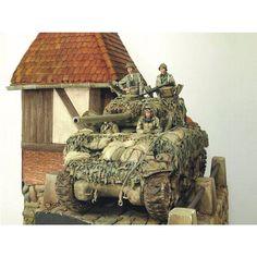 "988 Likes, 2 Comments - Usina dos Kits (@usinadoskits) on Instagram: ""M4A3  By: Łukasz Kapelski From: Pinterest  #scalemodel #plastimodelismo #war #guerra #guerre…"" Us Armor, Model Maker, Tank Armor, Model Tanks, Model Hobbies, Military Diorama, Military Modelling, Ww2 Tanks, Panzer"