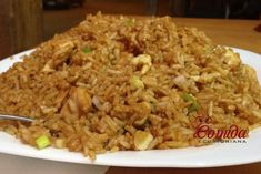 Chaulafan mixto ecuatoriano Italian Recipes, Mexican Food Recipes, Ethnic Recipes, Rice Recipes, Potato Recipes, Latin Food, International Recipes, Fried Rice, Risotto