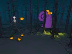For Halloween, Jack Skellington has found his way into CoSpaces.