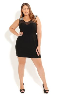 City Chic Roxy Babe Dress #citychic #plussize beautiful women have curves