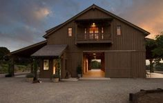 barn with apartment