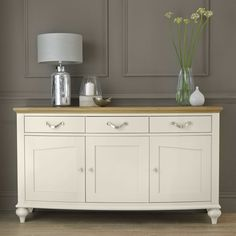 buy montreux pale oak antique white wide sideboard online from our style our home see our other bentley designs products